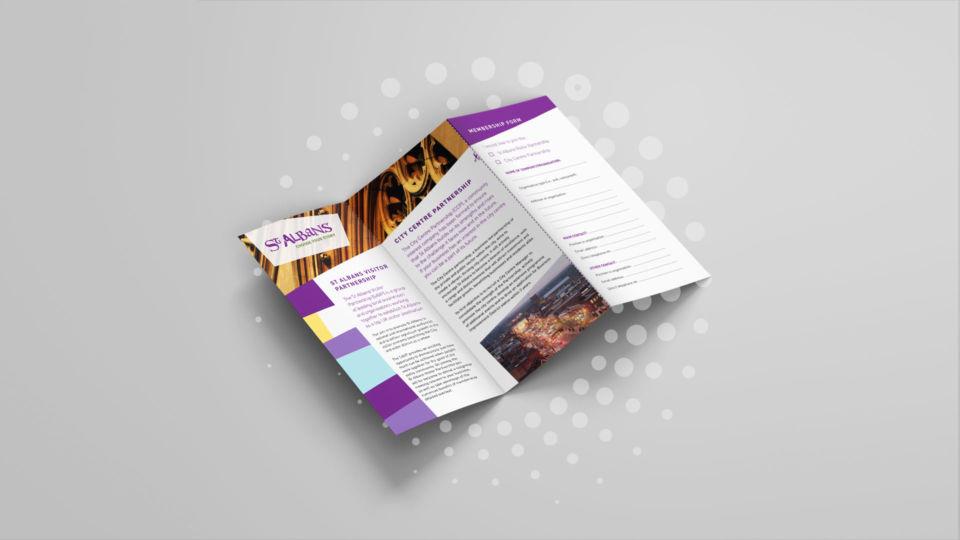 st albans visitor branding leaflet oyster studios 1