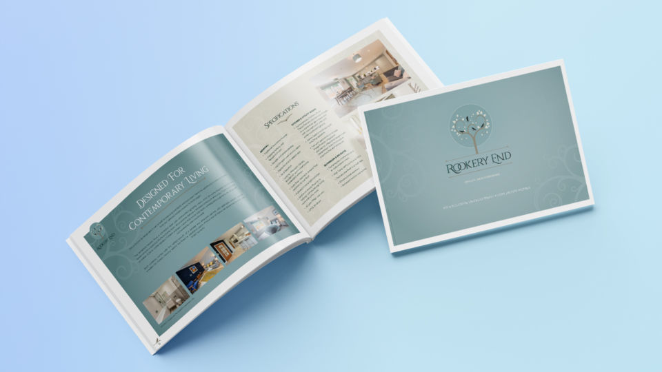 rookery end property marketing brochure oyster studios