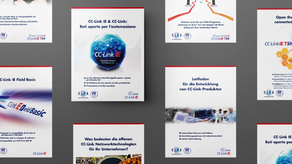 CLPA multi language brochure oyster studios 3
