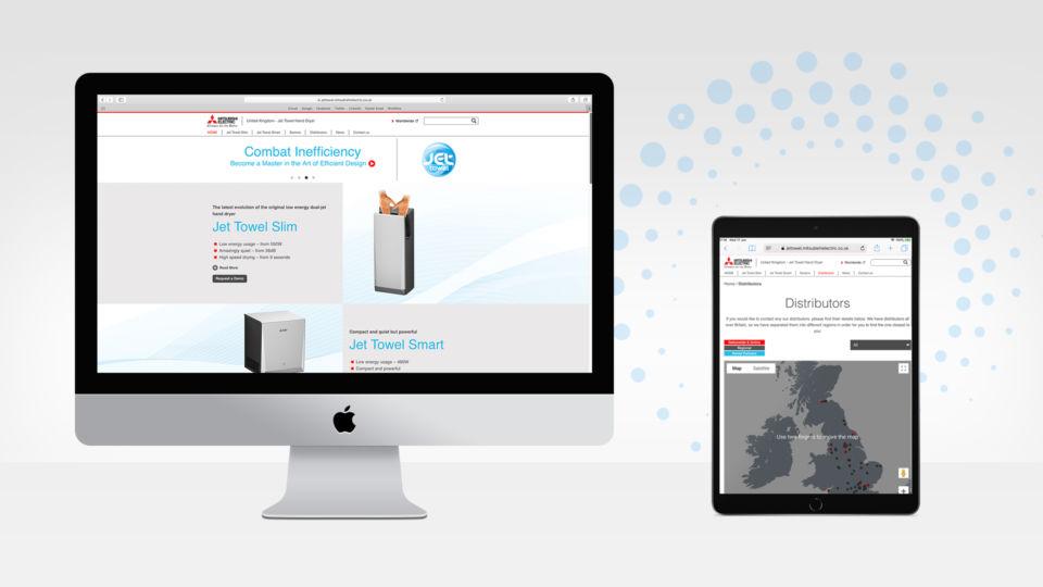 website design and build jet towel